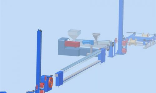 Extrusion Lines For Sheathing