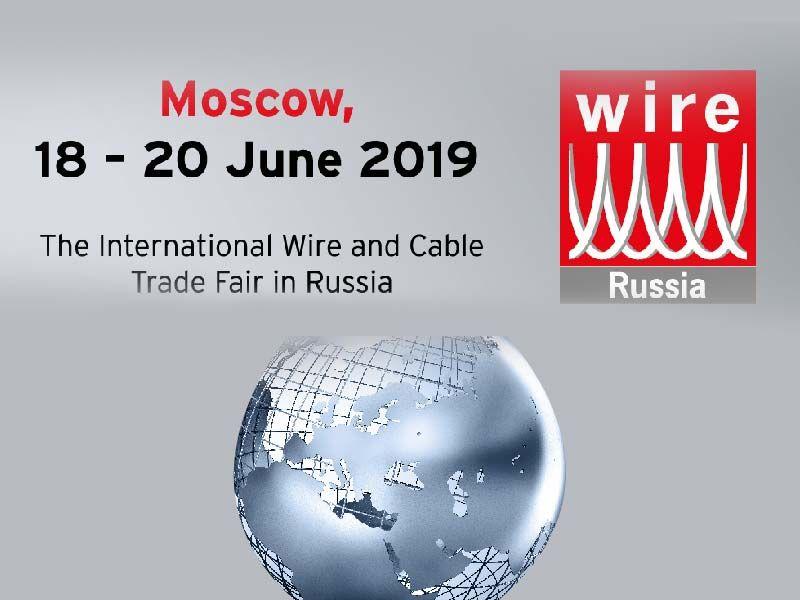 2019 Wire Russia Kablo Ve Tel Fuarında Olacağız